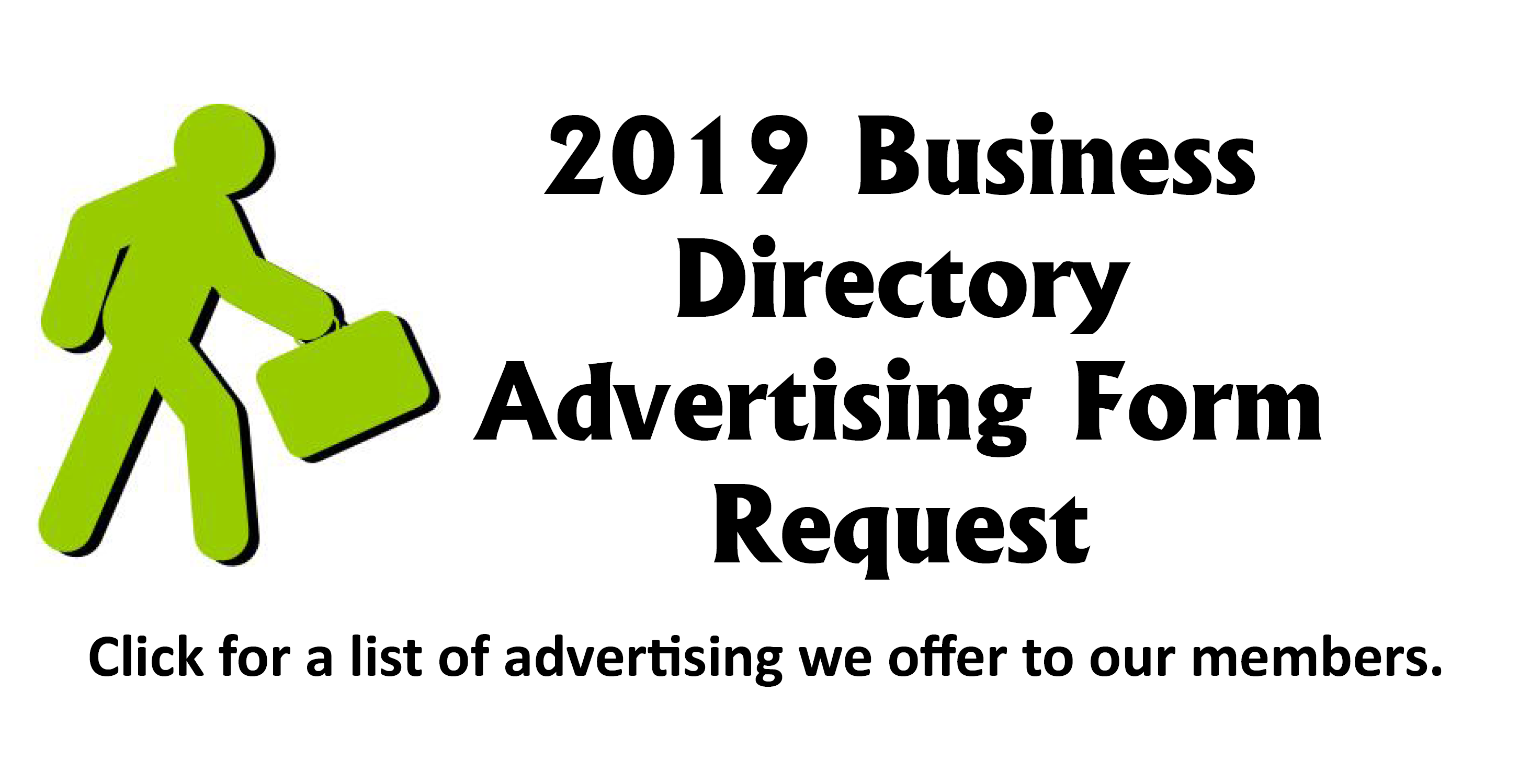 2018 Business Directory Advertising Form Request