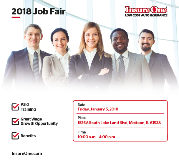 Insure One 2018 Job Fair @ Insure One | Mattoon | Illinois | United States