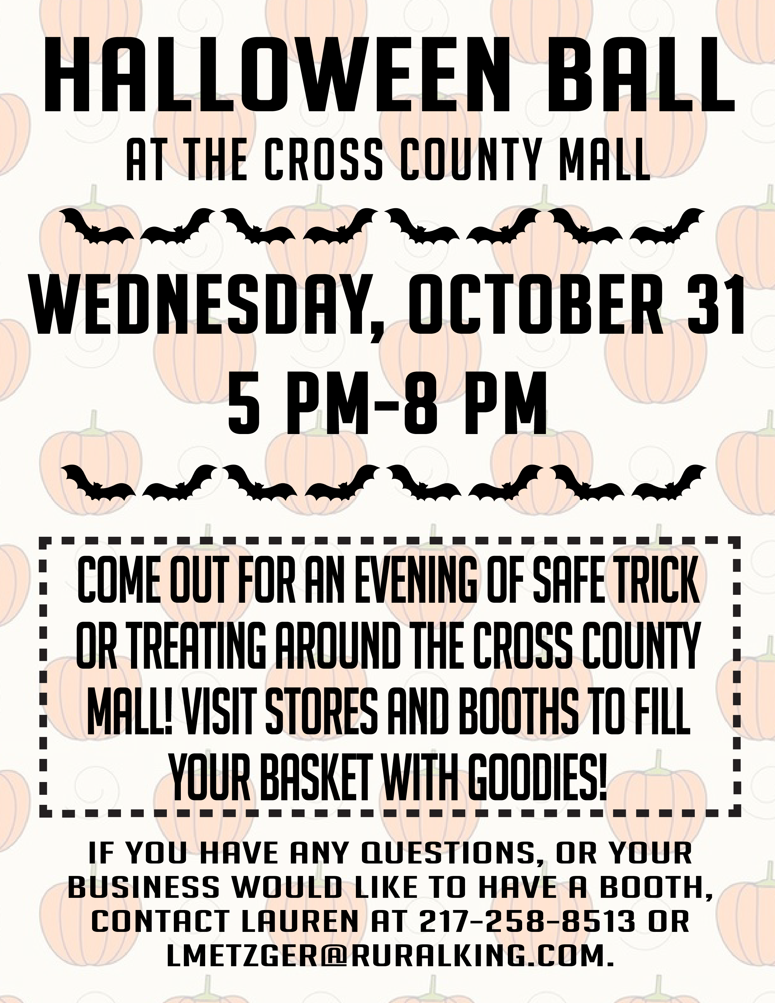 Halloween Ball @ Cross County Mall | Mattoon | Illinois | United States