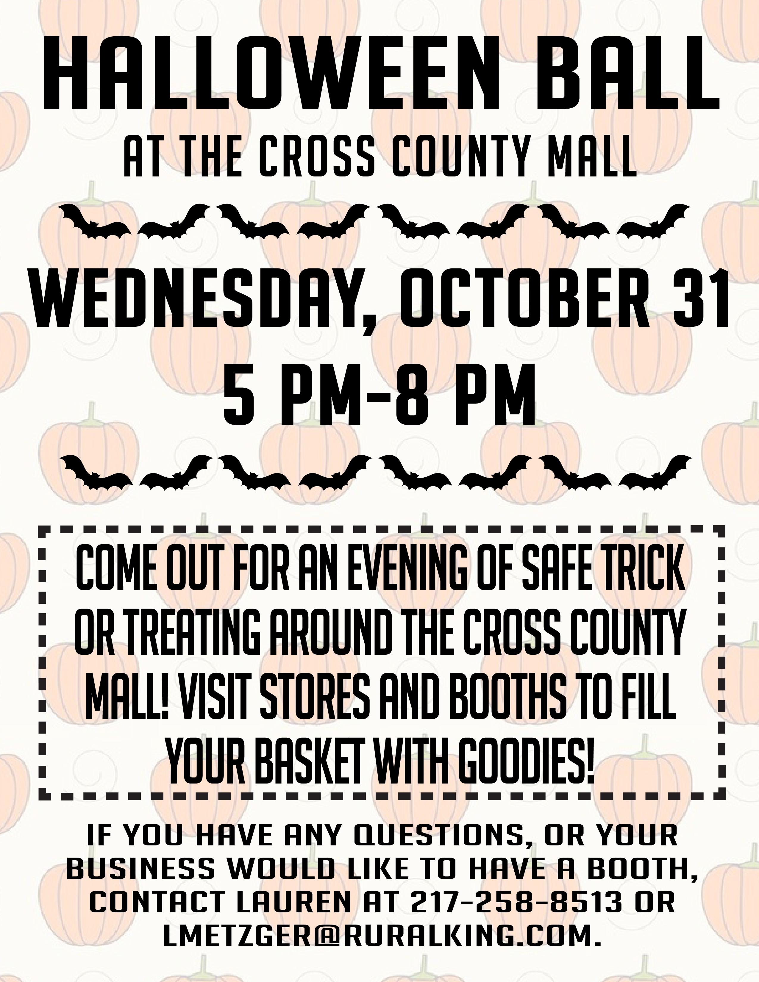 Halloween Ball @ Cross County Mall | Mattoon | Illinois | United States