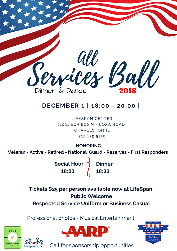 All Services Ball @ LifeSpan Center | Charleston | Illinois | United States