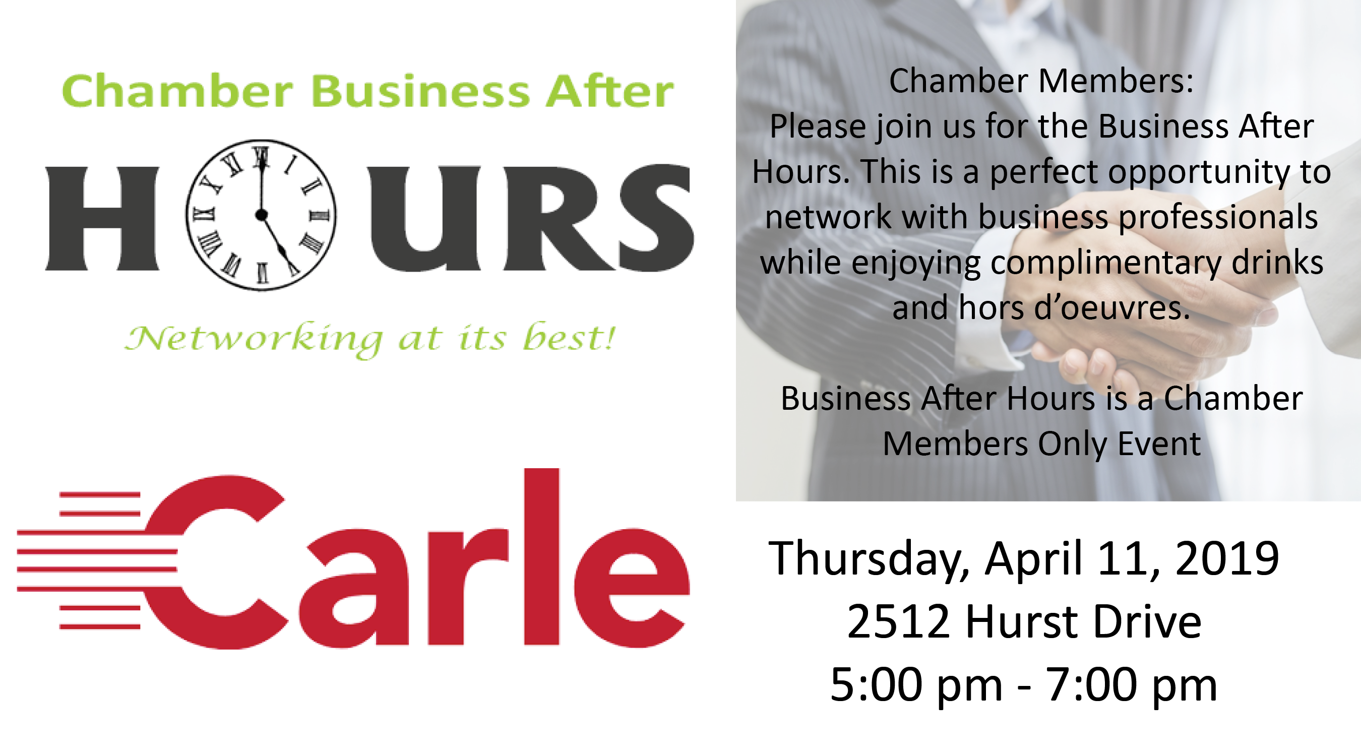 Joint Business After Hours @ Carle Mattoon on Hurst