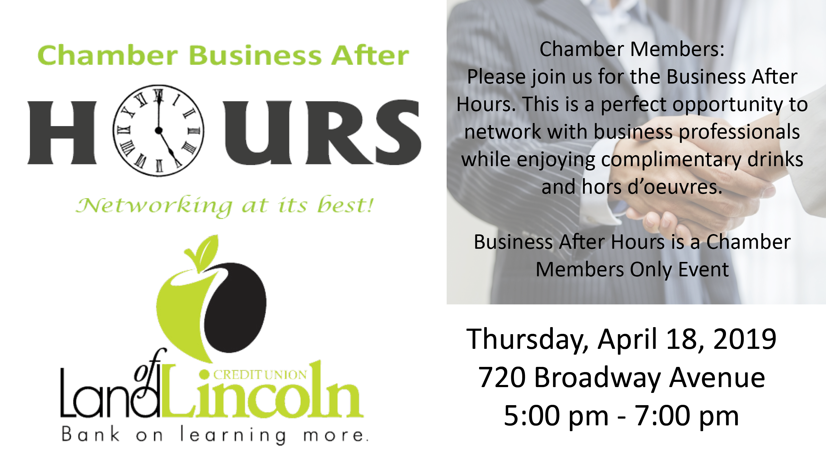 Business After Hours @ Land of Lincoln Credit Union