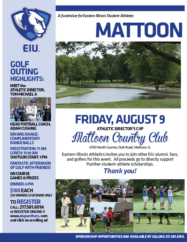 Eastern Illinois University Golf Outing @ Mattoon Golf & Country Club