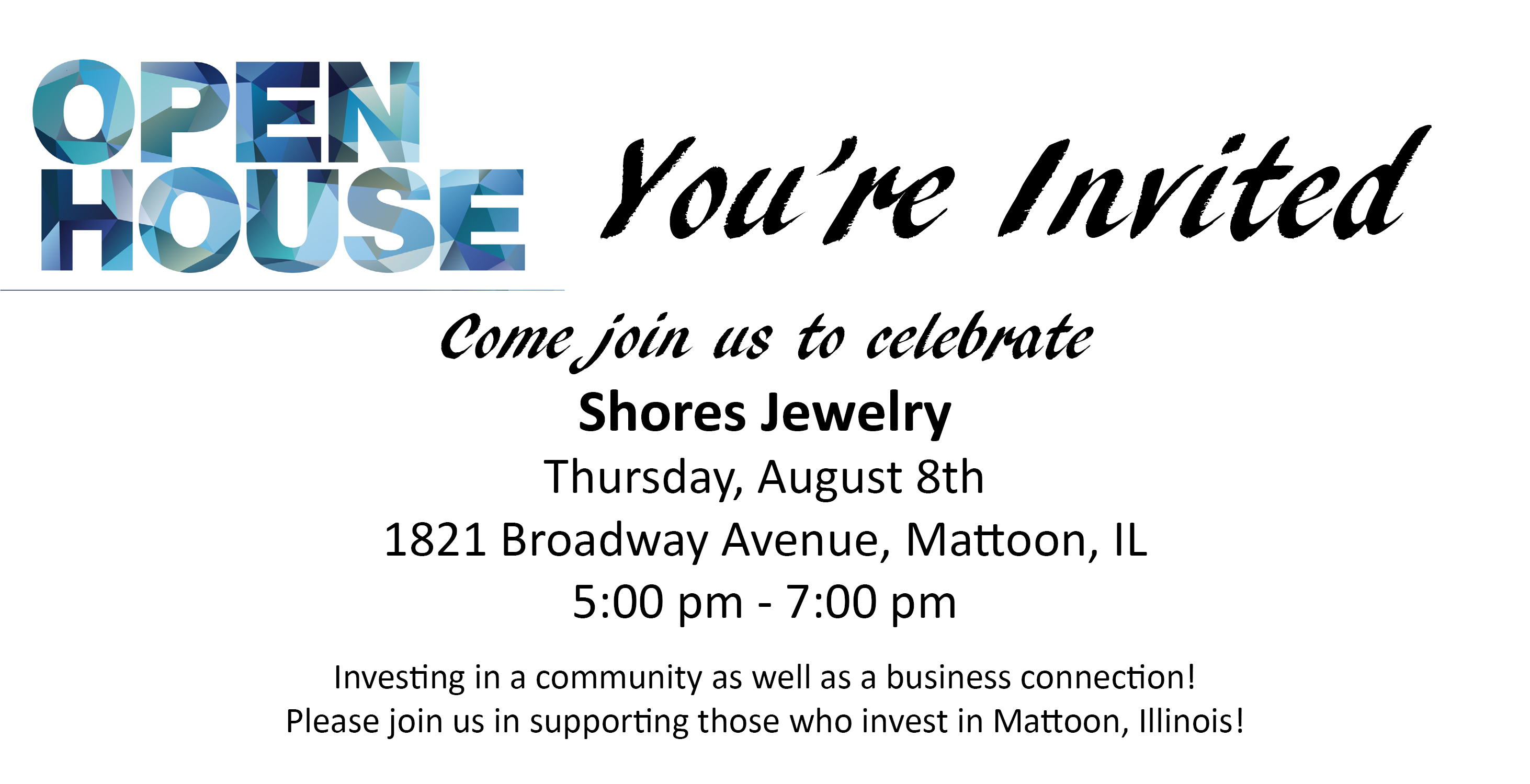 Open House @ Shores Jewelry