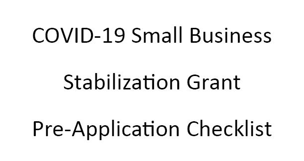 DOWNSTATE SMALL BUSINESS STABILIZATION PROGRAM